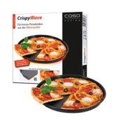 Das Caso Crispy Wave Pizzablech für die Mikrowelle mit 24 cm Durchmesser - Produktbild