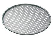 Produktbild - KitchenCraft Pizzablech für die Mikrowelle mit Löcher - 32 cm Durchmesser