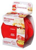 """Der Omlett-Garer §Easy-Eggs"""" von Sistema für die Mikrowelle - Produktbild"""